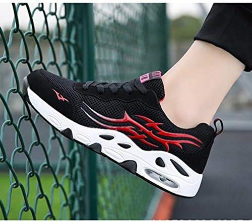 ウォーキングシューズ メンズ 大きいサイズ メッシュ スポーツシューズ ローカット エアクッション 歩きやすい 低反発 通気性 滑り止め ラウンドトゥ レースアップ バイカラー おしゃれ メンズシューズ 運動靴