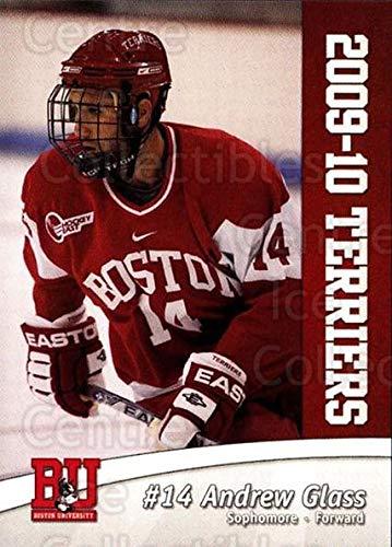 (CI) Andrew Glass Hockey Card 2009-10 Boston University Terriers 13 Andrew Glass ()