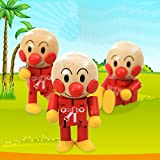 Children'S Variety And Amazing Bread Superman Anpanman Joint Doll Wooden Educational Cartoon Toys Christmas Birthday Gift 1 pcs