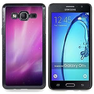Stuss Case / Funda Carcasa protectora - Aurora Borealis Purple Estrellas del cielo nocturno - Samsung Galaxy On5 O5