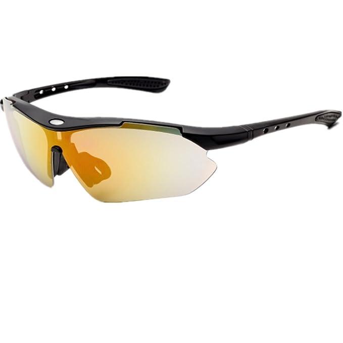 O-C - Gafas de sol - para hombre Amarillo amarillo: Amazon ...