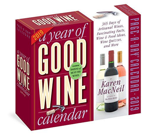 Year of Good Wine 2019 Calendar