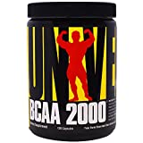 Universal Nutrition, BCAA 2000, 120 Capsules - 3PC