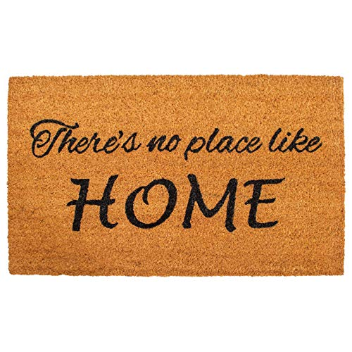 Calloway Mills 121251729 No Place Like Home Doormat, 17