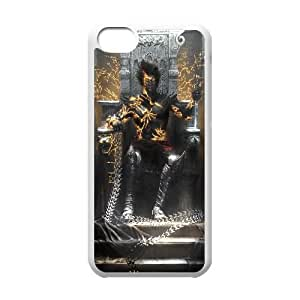 Prince Of Persia The Two Thrones Game iPhone 5c Cell Phone Case White yyfabc-486037