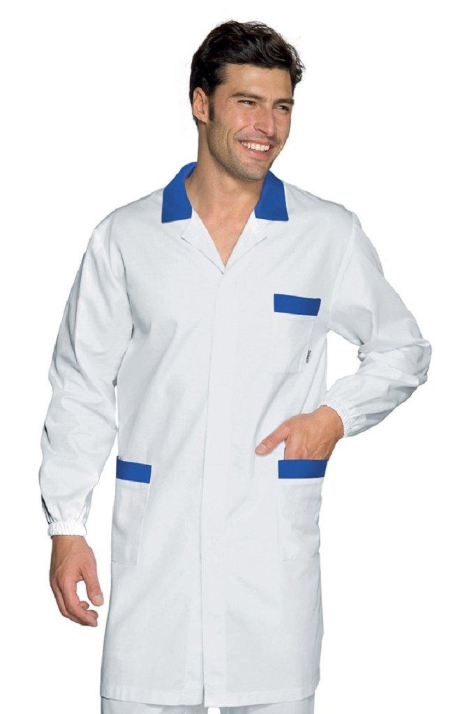 Bianco+Blu Cina S Manica Lunga 100/% Cotone Isacco Camice Toronto Bianco+Blu Cina