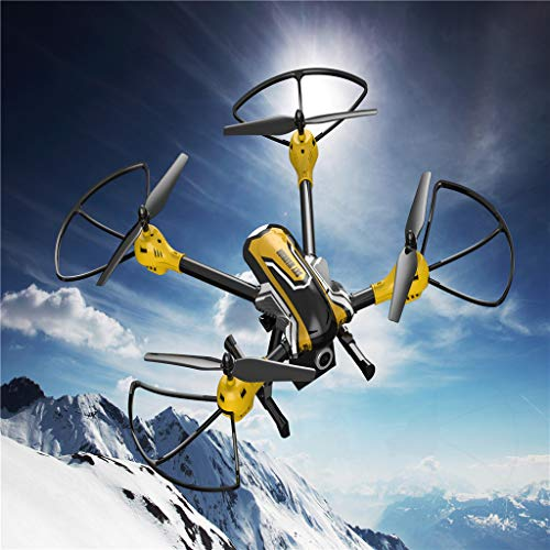 MOZATE KAIDENG K70 HD Camera 6 Axis Gyro Altitude Hold Mode 3D Flip Roll RC Quadcopter (Yellow) by MOZATE (Image #8)