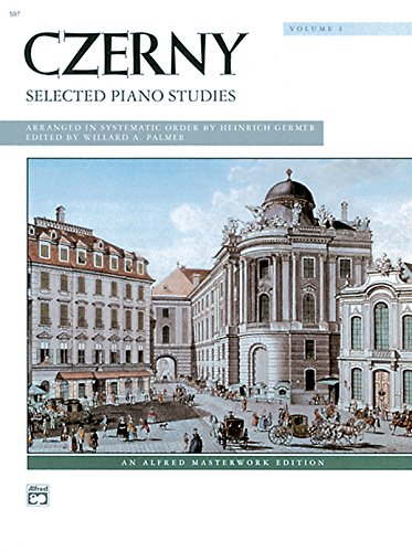 - Czerny -- Selected Piano Studies, Vol 1 (Alfred Masterwork Edition)