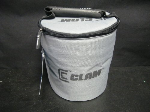 CLAM SPILL PROOF BAIT KEEPER .6 GALLONS MPN: 9045 ICE FISHING MINNOW BUCKET (Ice Minnows Fishing)