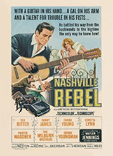Waylon Jennings: Nashville Rebel by Jennings, Waylon