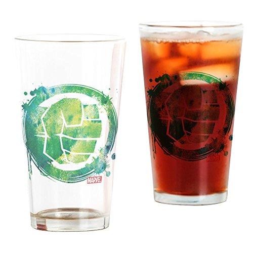 CafePress Hulk Fist Splatter Icon Pint Glass, 16 oz. Drinking Glass