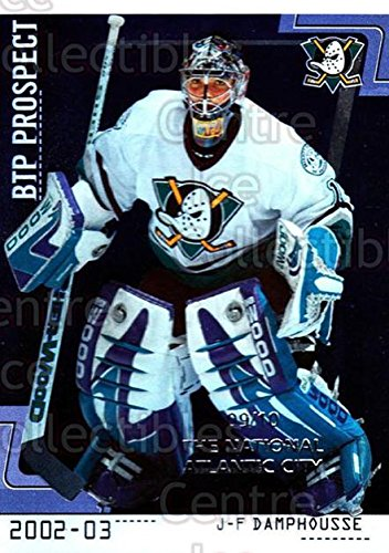 - (CI) JF Damphousse Hockey Card 2002-03 Between the Pipes (base) 79 JF Damphousse