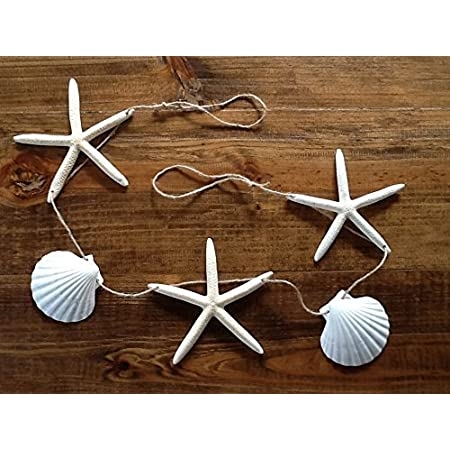 51iCGwMmMEL._SS450_ Beachy Starfish and Seashell Garlands