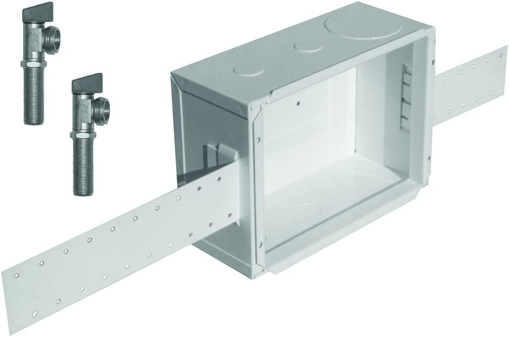LSP OB-505 Unassembled Outlet Box with Dual Shutoff Valves, Metal