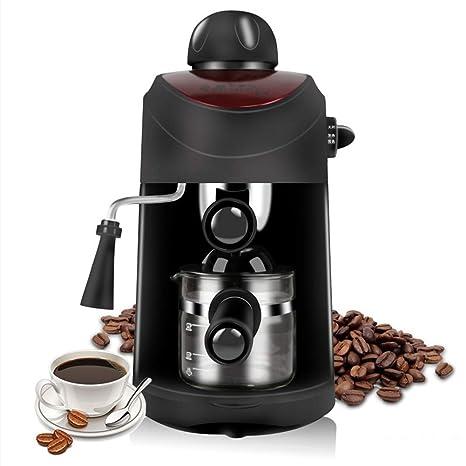 LuYi-Ww Máquina de café Italiana semiautomática casera máquina de café de Vapor de Alta