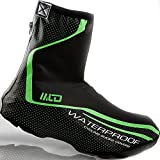 West Biking Neoprene Cycling Shoe covers Bike Bootie Wear Overshoes-Green Color