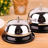 2 Pack Desk Bell, Ring Service Bell Office Call Bells Customer Bell Hotel Bell Kitchen Restaurant Bar Bell
