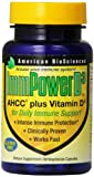 Cheap American BioSciences ImmPowerD3 AHCC & Vitamin D3 Daily Immune Maintenance, Gluten-Free – 30 Vegetarian Capsules