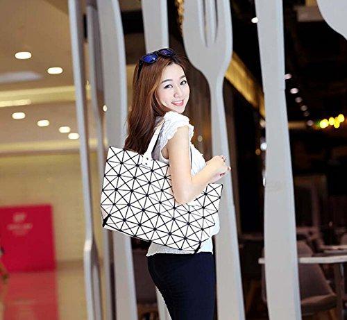pour Shopping travail sacs à loisirs main sac sac à Top Messenger sac géométrique réglable bandoulière Noir à poignée bandoulière sacs Femmes les dames anq1TwcWcR