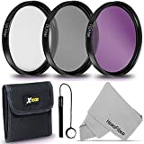 67MM Professional Lens Filter Set UV FLD CPL Filters + Accessories Kit (67mm)
