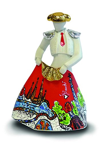 Nadal 711037 Figure Torero No. 37, Resin, Multi-Colour, 6 x 10 x 15.5 cm CRKQA