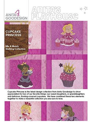 Anita Goodesign Embroidery Designs Cupcake Princess (Embroidery Princess Design)