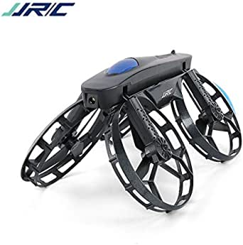 JJRC Lugia Global H45 Bogie Wheel-Shaped Selfie Drone with WiFi FPV 720P Camera Foldable Quadcopter Hold Altitude for RC Toys