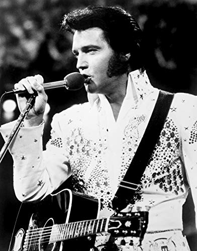 Posterazzi Poster Print Collection Elvis Aloha from Hawaii Still (16 x 20)