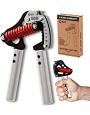 GD Iron Grip Metalen Handgreep Oefeningsversterker (Verstelbare Handgrijper) Pols- en onderarmkrachttrainer