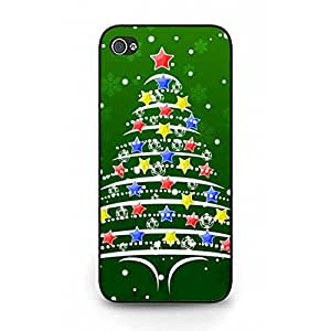 Iphone 5/5s Moulded Cover Case Fun Christmas Printing Phone Case Christmas Tree Best Christmas Gifts Phone Case