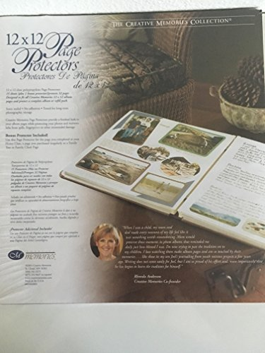 Creative Memories Page Protectors for Retired 12x12 Scrapbook Pages by Creative Memories