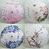 GUUQA Chinese Silk Cloth Umbrella Classi