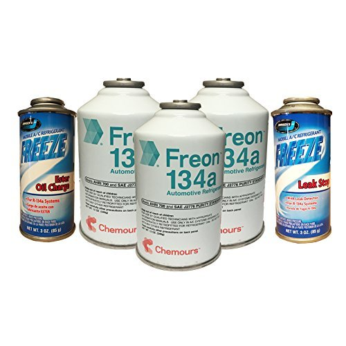 AC Refrigerant Package 3 Cans DuPont R-134a, Oil Charge, used for sale  Delivered anywhere in Canada