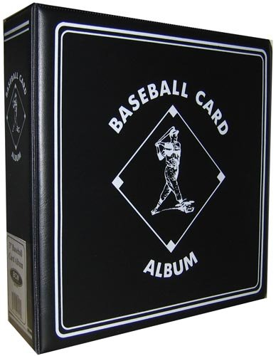 "BCW Supplies Baseball Black 3"" Album"