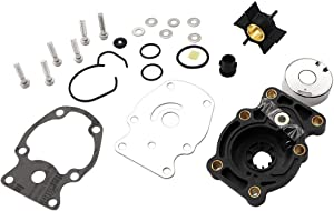 KIPA Impeller Water Pump Repair Kit For Johnson Evinrude 20 25 30 35 Hp Outboard Engines, Replace For Sierra # 18-3382 OMC # 393630