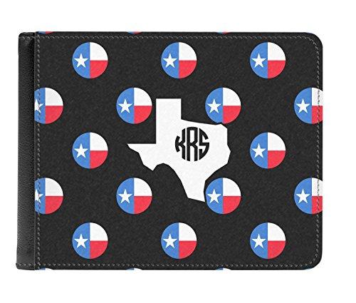 Texas fold Men's Leather Genuine Bi Dots Polka Personalized Wallet ZCwrxqZY