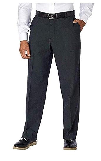 e9bfec44 Kirkland Signature Men's Flat Front Wool Dress Pants