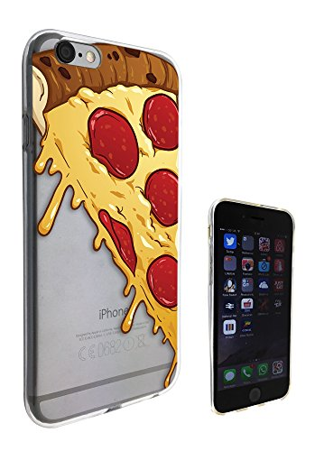 c0050 - Yum Yum Pizza Slice Cheese Funny Design Pour iphone 5C Protecteur Coque Gel Rubber Silicone protection Case Coque