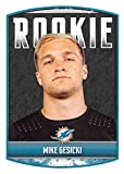 2018 Panini NFL Stickers Collection #40 Mike Gesicki RC Rookie Miami Dolphins Official Football Sticker