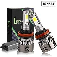 Binzet H11/H8/H9 LED Headlight Bulbs Conversion Kit