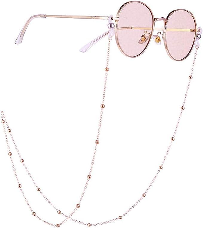 Perlen Sonnenbrille Kette hängender Anti-Falling Brille Brille Cord Halskette