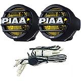 "PIAA 22-05370 LP530 Yellow 3.5"" LED Ion Fog Light Kit (SAE Compliant)"