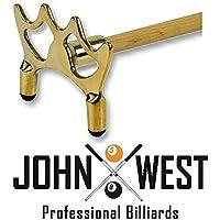 John West stecca da biliardo ponte in ottone piatto