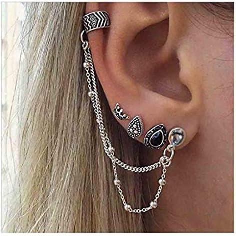 Yfe Earrings Cartilage Jewelry Silver