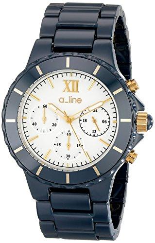 Chronograph Ceramic Bracelet Watch - 9