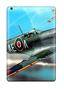 Cheap 1923512K78241944 Awesome Defender Tpu Hard Case Cover For Ipad Mini 3- Aircraft