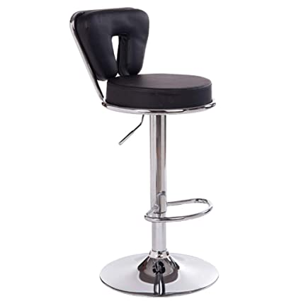 Outstanding Amazon Com Artificial Leather Barstools With Backs Iron Gmtry Best Dining Table And Chair Ideas Images Gmtryco