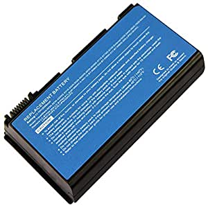 Bateria ACER 11.1V 4400mAh/49wh Compatible con TM00741, TM00751, GRAPE32, GRAPE34(14.8V), LC.BTP00.005, CONIS71, LC.BTP00.006((14.8V), y portatiles Extensa 5210 Series, Extensa 5620G Series, Extensa 5220 Series, TravelMate 5320 Series, TravelMate 5710 Series, TravelMate 5720G Series, TravelMate 7520G Series