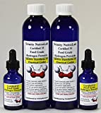 Trinity NutraLab TNL Two 35 Percent Food Grade Hydrogen Peroxide 8 oz with Two Dropper Bottle