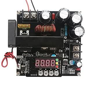 Regulador de voltaje de alimentación DC con control